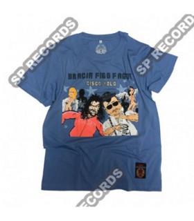 Koszulka Bracia Figo Fagot - Disco Polo niebieska