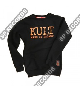 Bluza KULT - Made in Poland prosta Czarna