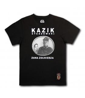 Koszulka Kazik Staszewski - Żona żołnierza czarna