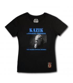Damska koszulka Kazik & Kwartet ProForma - Tata Kazika kontra Hedora czarna