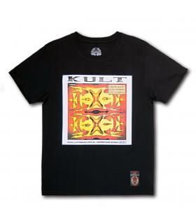 Koszulka Kult - Spokojnie czarna (Vinyl edition)