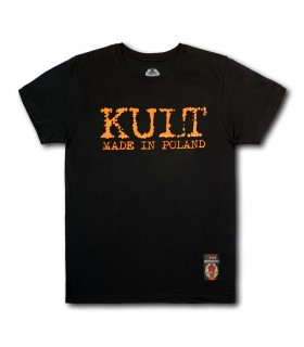 Koszulka Kult - Made in Poland Prosta czarna