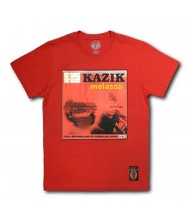 Koszulka Kazik - Melassa czerwona (Vinyl edition)