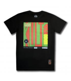 Koszulka Kult - 45-89 czarna (Black vinyl edition)