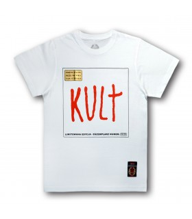Koszulka Kult - Kult biała (Vinyl edition)