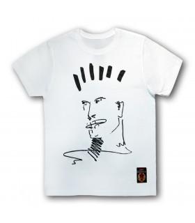 Koszulka Kazik - Spalam się Biała
