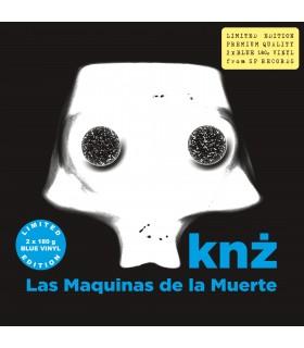 Knż - Las Maquinas de la Muerte [2LP] lim. ed. Blue Vinyl Nakład: 810 szt. (PREORDER)
