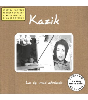 Kazik - Los się musi odmienić [2LP] lim. ed. White Vinyl Nakład: 400 szt. (PREORDER)