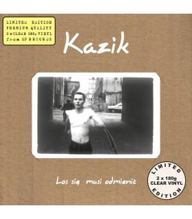 Kazik - Los się musi odmienić [2LP] lim. ed. Clear Vinyl Nakład: 400 szt. (PREORDER)