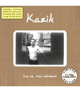 Kazik - Los się musi odmienić [2LP] lim. ed. Clear Vinyl Nakład: 400 szt.