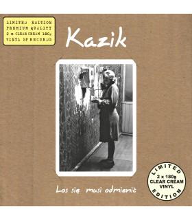 Kazik - Los się musi odmienić [2LP] lim. ed. Clear Cream Vinyl Nakład: 400 szt.