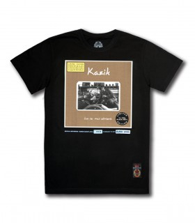 Koszulka Kazik - Los się musi odmienić (Black Vinyl Edition) czarna
