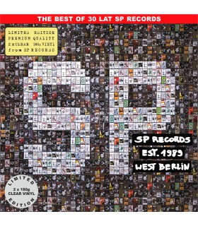 Składanka The best of 30 lat SP RECORDS [2LP] lim. ed. Clear Vinyl Nakład: 888 szt.