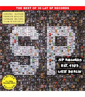 Składanka The best of 30 lat SP RECORDS [2LP] lim. ed. Yellow Vinyl Nakład: 888 szt.