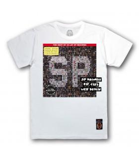 Koszulka 30 lat SP RECORDS (Black Vinyl Edition) biała