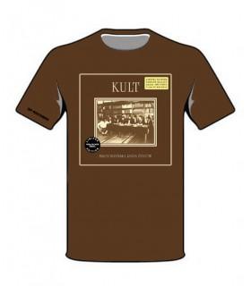 Koszulka Kult - BROOKLYŃSKA RADA ŻYDÓW (Black Vinyl Edition) brązowa
