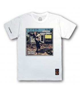 Koszulka Bracia Figo Fagot - Bez popity i bez gumy (Vinyl edition) biała (PREORDER)