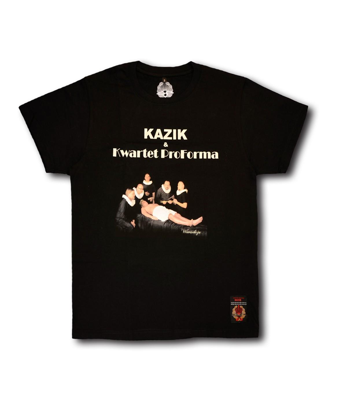 Koszulka Kazik & Kwartet Proforma Wiwisekcja Czarna