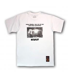 Koszulka Kult - Panie Waldku Pan się nie boi biała