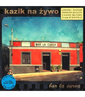 Kazik Na Żywo - Bar La Curva / Plamy na słońcu [2LP] lim. ed. Blue Vinyl Nakład: 389 szt.