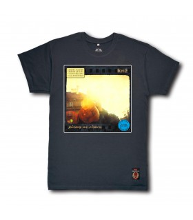 Koszulka KNŻ - Plamy na słońcu (Blue Vinyl Edition) grafitowa