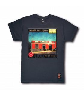Koszulka Kazik Na Żywo - Bar La Curva (Red Vinyl Edition) grafitowa