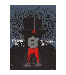 Plakat Pidżama Porno - Sprzedawca jutra Edycja limitowana. Nakład: 100 szt.