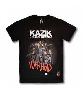 Koszulka Kazik + Zdunek Ensemble - Warhead czarna