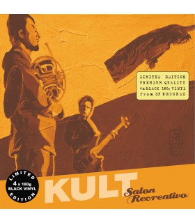 Kult - Salon Recreativo [4LP] lim. ed. Black Vinyl Nakład: 450 szt.