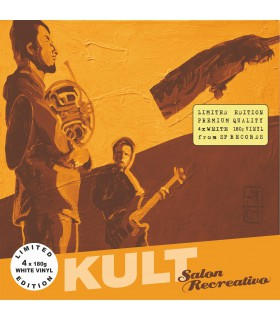 Kult - Salon Recreativo [4LP] lim. ed. White Vinyl Nakład: 450 szt.