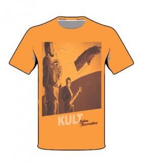 Koszulka Kult - Salon Recreativo pomarańczowa