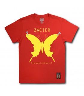 Koszulka Zacier - Nie zabijaj motyli czerwona