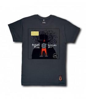 Koszulka Pidżama Porno - Sprzedawca jutra (Black Vinyl Edition) grafitowa