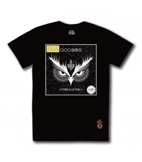 Koszulka Gooral - Ethno Elektro 2 czarna (Special White edition) (PREORDER)