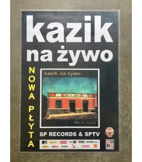Plakat: Kazik na Żywo - Bar la curva / Plamy na słońcu [2011]
