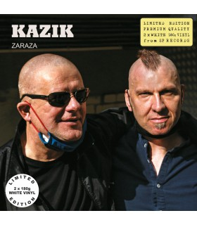 Kazik - Zaraza [2LP] lim. ed. White Vinyl Nakład: 500 szt.