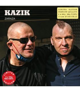 Kazik - Zaraza [2LP] lim. ed. Red Vinyl Nakład: 500 szt.