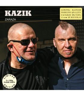 Kazik - Zaraza [2LP] lim. ed. Clear Vinyl Nakład: 500 szt. (PROERDER)