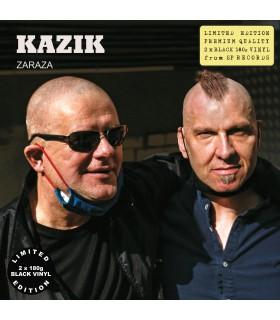 Kazik - Zaraza [2LP] lim. ed. Black Vinyl Nakład: 500 szt. (PROERDER)