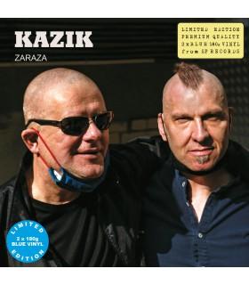 Kazik - Zaraza [2LP] lim. ed. Blue Vinyl Nakład: 1000 szt.