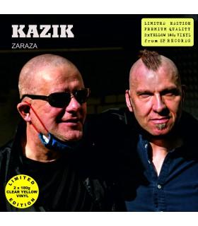 Kazik - Zaraza [2LP] lim. ed. Yellow Vinyl Nakład: 2000 szt.