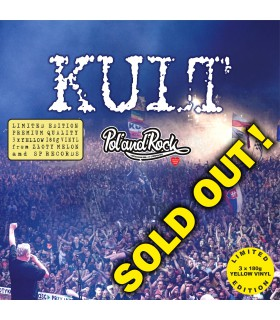 Kult Live Pol'And'Rock Festival 2019 LIM. ED. CLEAR YELLOW VINYL NAKŁAD: 590 SZT.