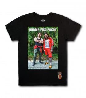Koszulka Bracia Figo Fagot - Miliony internautów mogą się mylić czarna