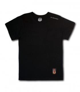 Koszulka SP RECORDS czarna (Krój: standardowy)