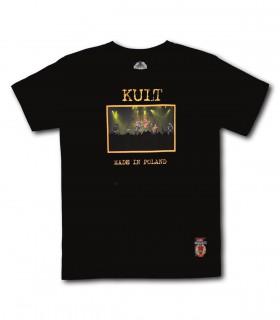 Koszulka Kult - Made in Poland czarna