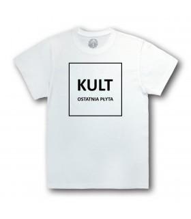 Koszulka KULT - Ostatnia Płyta biała [Basic]