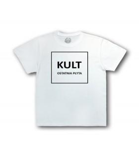 Dziecięca Koszulka KULT - Ostatnia Płyta Junior biała (PREORDER)