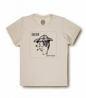Koszulka ZACIER - Zgon po placebo ecru (PREORDER)