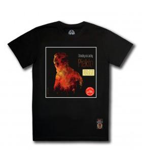 Koszulka Strachy na Lachy - Piekło (Red Vinyl Edition) czarna