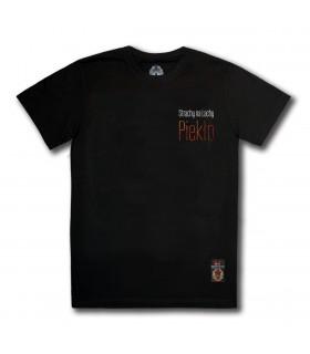 Koszulka Strachy na Lachy - Piekło Napis czarna [PREMIUM] (PREORDER)